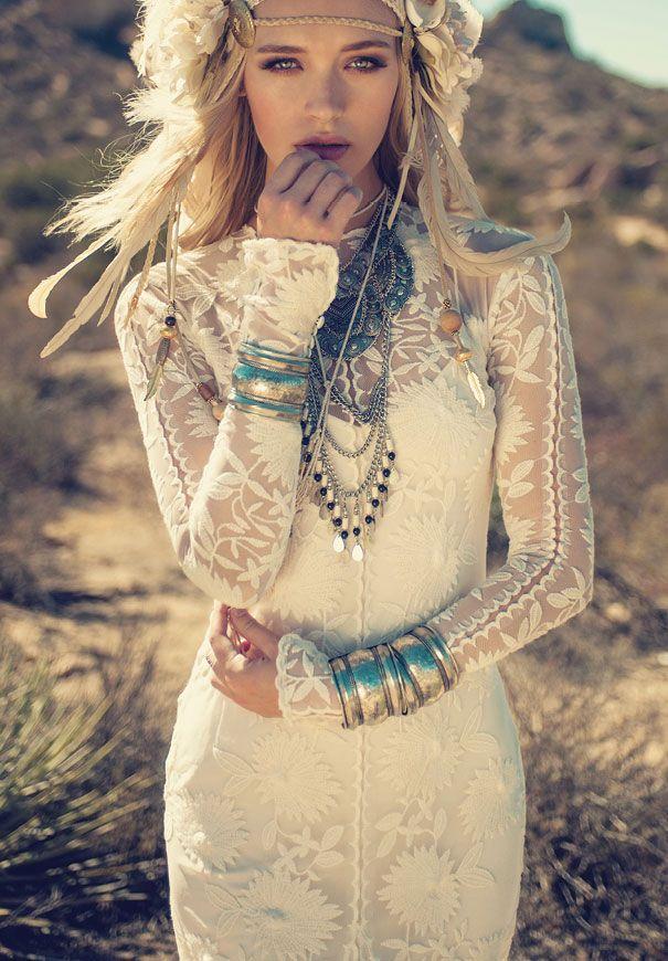rue de seine, vestidos de novia boho en something old madrid! - ella